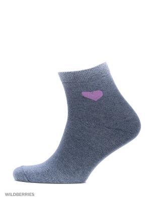 Набор носков, 2 пары Modis. Цвет: синий
