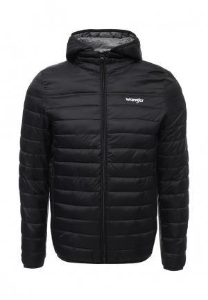Куртка утепленная Wrangler. Цвет: черный