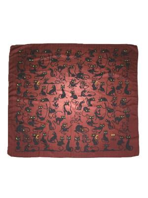 Платок Magrom. Цвет: коричневый