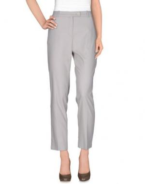 Повседневные брюки CALALUNA. Цвет: светло-серый