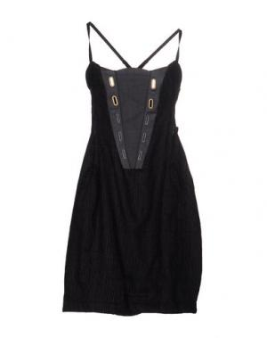 Короткое платье LE JEAN DE MARITHÉ + FRANÇOIS GIRBAUD. Цвет: черный