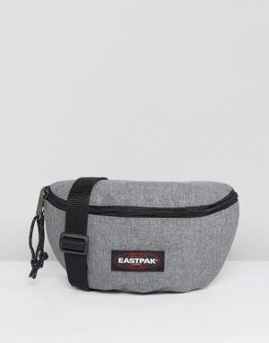 Eastpak Серая сумка-кошелек на пояс Springer. Цвет: серый
