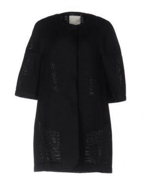 Легкое пальто TROU AUX BICHES. Цвет: черный