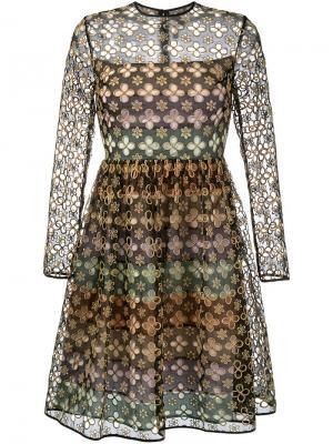 Платье Sandra Huishan Zhang. Цвет: чёрный