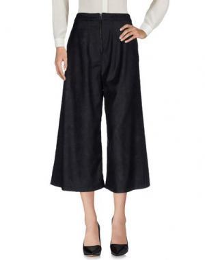 Повседневные брюки MANOSTORTI. Цвет: стальной серый