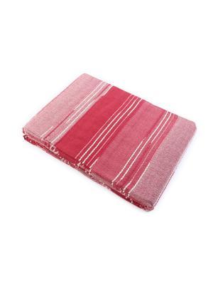 Покрывало самотканое ГАНГ. Цвет: бордовый