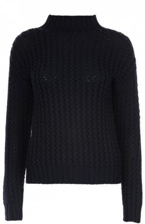 Вязаный свитер Gerard Darel. Цвет: темно-синий