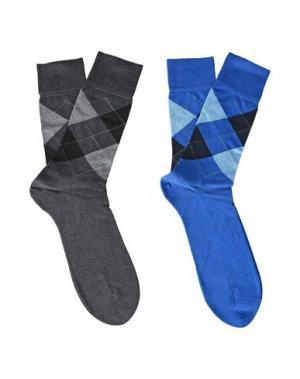 Короткие носки BURLINGTON. Цвет: стальной серый