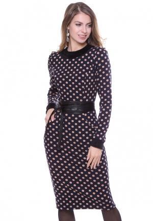 Платье Olivegrey. Цвет: синий