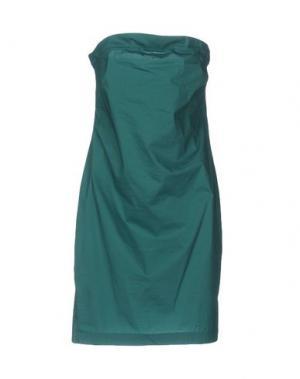 Короткое платье GOTHA. Цвет: зеленый