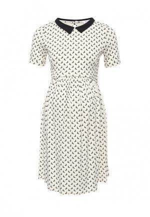 Платье Envie de Fraise. Цвет: бежевый