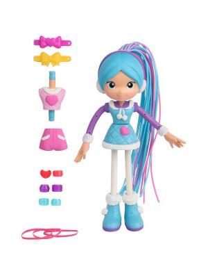 Кукла Бетти Спагетти .Снежная в голубом. Moose. Цвет: голубой
