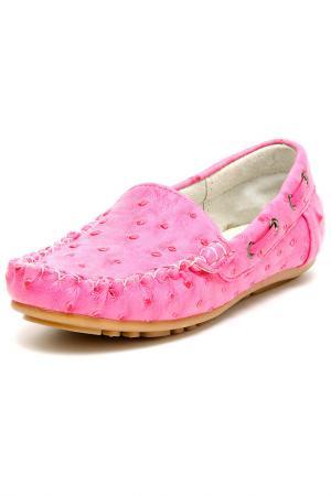 Туфли школьные MURSU. Цвет: фуксия