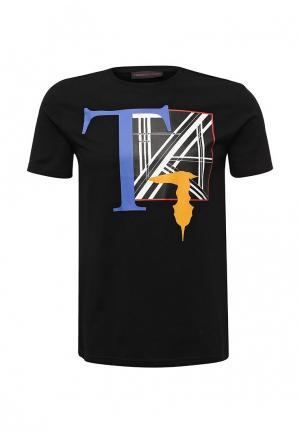Футболка Trussardi Jeans. Цвет: черный