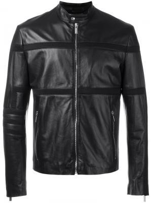 Куртка с сетчатыми вставками Dirk Bikkembergs. Цвет: чёрный