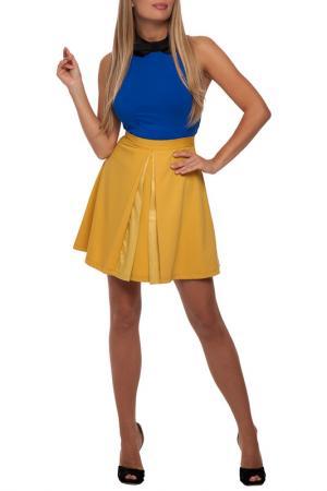 Юбка Gloss. Цвет: желтый