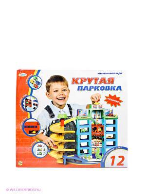 Настольная игра Парковка Играем вместе. Цвет: голубой, желтый, сливовый, красный