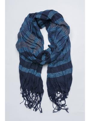 Палантин Venera. Цвет: темно-синий, голубой