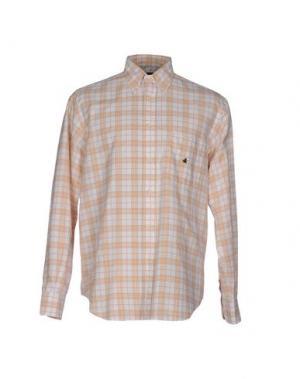 Pубашка BROOKSFIELD. Цвет: абрикосовый