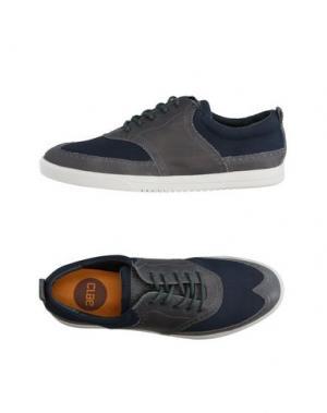 Низкие кеды и кроссовки CLAE. Цвет: темно-синий