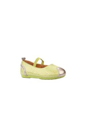 Туфли Vitacci. Цвет: зеленый