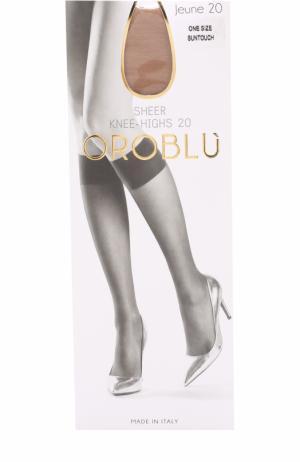 Капроновые гольфы Oroblu. Цвет: светло-коричневый