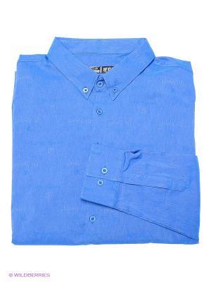 Рубашка IFC. Цвет: индиго