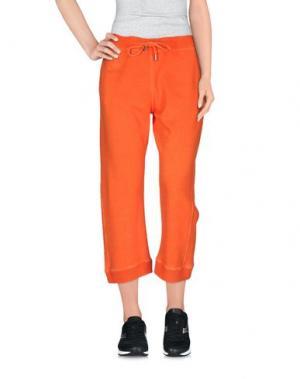 Брюки-капри DSQUARED2. Цвет: оранжевый