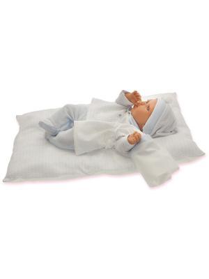 Кукла Ману, озвученная, 29 см. Antonio Juan. Цвет: молочный, светло-голубой