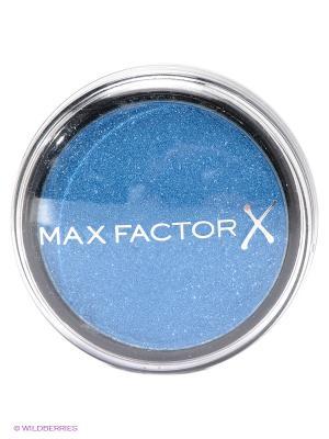 Тени одноцветные Wild Shadow Pots Eyeshadow 45 тон sapphire rage MAX FACTOR. Цвет: голубой