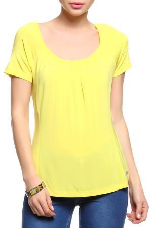 Майка Versace Jeans. Цвет: желтый