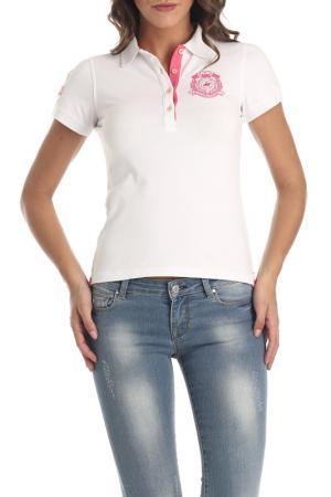 Рубашка-поло Galvanni. Цвет: white