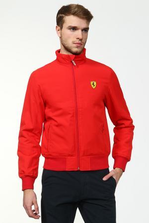 Куртка Ferrari. Цвет: красный
