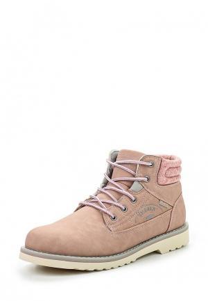 Ботинки Enjoin Enjoin'. Цвет: розовый