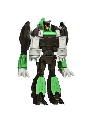 Уан Стэп Гримлок Transformers. Цвет: зеленый, белый, черный