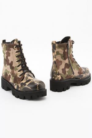 Ботинки SpringWay. Цвет: хаки