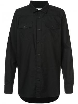 Рубашка Firetape Off-White. Цвет: чёрный