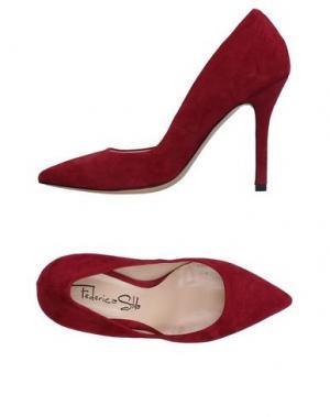 Туфли FEDERICA STELLA. Цвет: красный