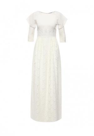Платье Diana Pavlovskaya. Цвет: белый