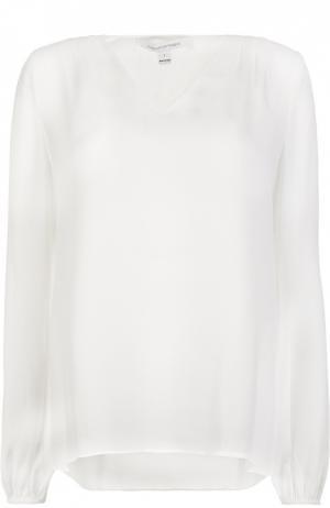 Блуза Diane Von Furstenberg. Цвет: белый