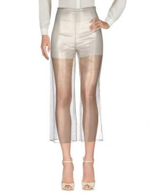 Повседневные брюки GENNY. Цвет: платиновый