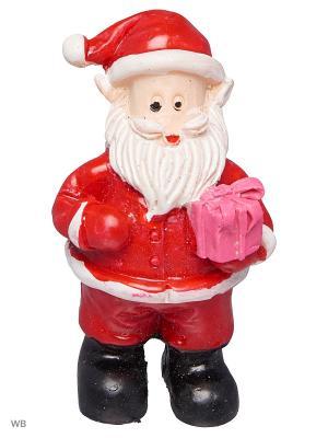Дед Мороз Толстячок в полушубке А М Дизайн. Цвет: черный, красный, белый