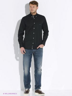 Рубашка Eden Park. Цвет: черный