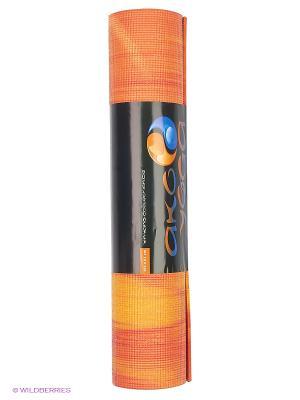 Коврик для йоги Ганг Ako-Yoga. Цвет: красный