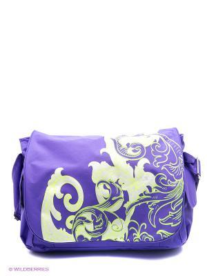 Сумка UNION. Цвет: фиолетовый