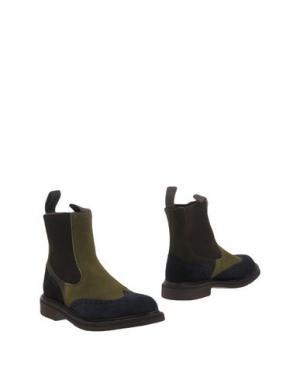 Полусапоги и высокие ботинки TRICKER'S. Цвет: зеленый-милитари