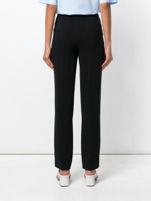 High-waisted tailored trousers Salvatore Ferragamo. Цвет: чёрный