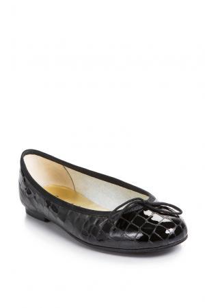 Балетки 163643 French Sole. Цвет: черный