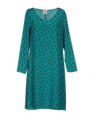 Платье до колена ATTIC AND BARN. Цвет: изумрудно-зеленый