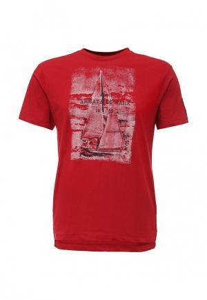 Футболка Armata di Mare. Цвет: красный